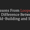 Looper Difference Between World-Building and Story